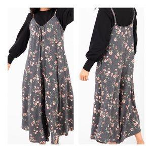 🍝 Romper V Neck Spaghetti Strap Jump Suit Floral